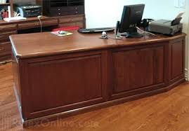 Solid Wood Office Desks Solid Wood Desk Hudson Valley Ny Rylex Custom Cabinetry Closets