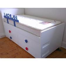 Pictures Of Trundle Beds Bedroom Captain Beds Twin Trundle Bed With Drawers Captains