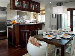 design of kitchen furniture dining room kitchen and dining room ideas design small decor