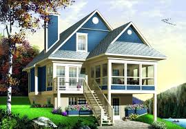house plans for sloping lots sloping lot house plans fresh sloping lot house plans sloping lot