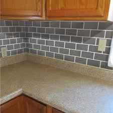 Backsplash Tile Paint by Interior Simple Faux Tile Backsplash Tile Ideas Paint Faux Tile
