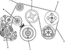solved belt diagram for a 2000 honda passport v6 24 valve fixya