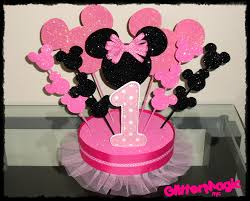 Centerpieces For Minnie Mouse Party by 1 Minnie Mouse Centerpiece Minnie Mouse By Glittermagic23s