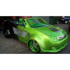 green car spray paint part 22 glow in the dark spray paint car