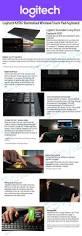 Living Room Wireless Lighting Logitech K830 Illuminated Wireless Living Room Keyboard