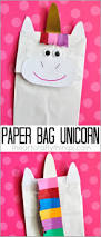 how to make a paper bag unicorn craft unicorn crafts unicorns