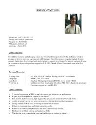 Resume For Job by System Engineer U0027s Cv With 3 Yrs Of Exp Looking For Job In Dubai