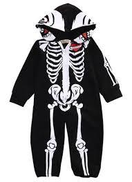 Skeleton Jumpsuit Hooded Baby Skeleton Jumpsuit U2013 Baby King Stores