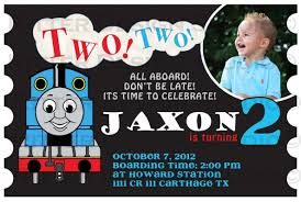 thomas the train birthday invitations best invitations card