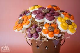 cookie bouquet fall cookie flower bouquet