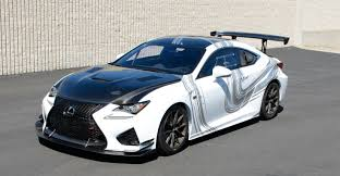 toyota lexus sports car lexus rc f gt concept making special appearance this weekend