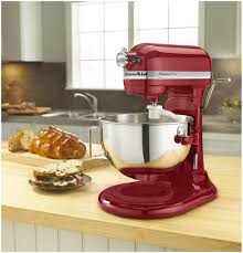 Kitechaid Kitchenaid Professional 5 Plus Mixer 5qt Empire Red