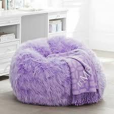 fur rific lilac beanbag slipcover small purple bean bags bean