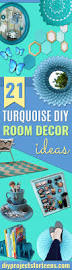 Turquoise Bedroom Decor Ideas by 21 Brilliant Turquoise Diy Room Decor Ideas Diy Projects For Teens