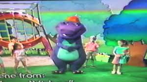 closing to barney waiting for santa 1991 vhs youtube