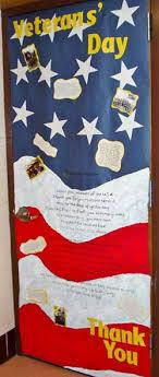 day door decorations great classroom idea veteran s day poem for classroom door