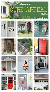 Increasing Curb Appeal - budget curb appeal ideas