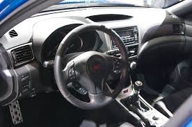 2013 Sti Interior File Geneva Motorshow 2013 Subaru Wrx Sti Steering Wheel Jpg