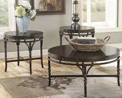 ashley furniture glass top coffee table ashley coffee table furniture chicago ashley furniture round coffee