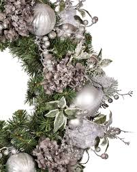 Crystal Garland For Christmas Tree Crystal Palace Decorated Wreath And Garland Balsam Hill