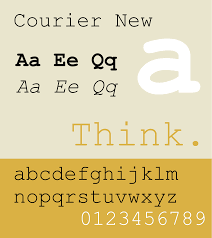 courier typeface wikipedia