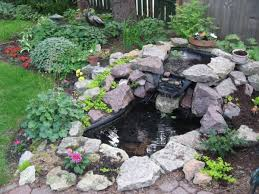 of small yet adorable backyard pond ideas for your garden 12