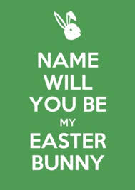 my easter bunny will you be my easter bunny keep calm easter car 2 99 bullring