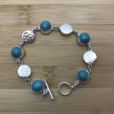 silver bracelet with stones images Silver and pearls tbjoux JPG