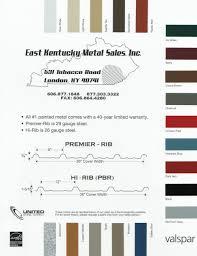 Valspar Colour Chart Color Chart