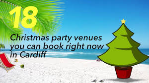 18 christmas party venues you can book right now in cardiff