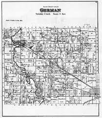 Sugarcreek Ohio Map by 1880 Township Maps