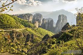 Meteora Greece Map by Greece Meteora Free Photo Tour And Hiking Map Nomad Travellers