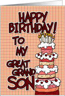 birthday cards for great grandson from greeting card universe