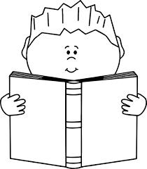 read a book boy coloring page wecoloringpage