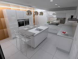 White Island Kitchen Kitchen Design
