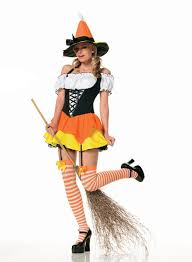 women u0027s candy corn witch costume costumes