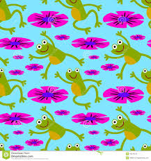 leap frog seamless background design stock illustration image