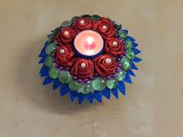 creative diy crafts beautiful candle decoration with paper plate