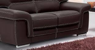 canap cuir vachette ou buffle aoste salon 3 2 buffle vachette cuir épais personnalisable sur