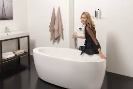 Freestanding Bath Tub Aquatica Purescape 174b Wht Freestanding Acrylic Bathtub