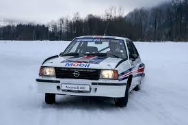 opel rally car driving walter röhrl u0027s opel ascona 400 rally car autoclassics com