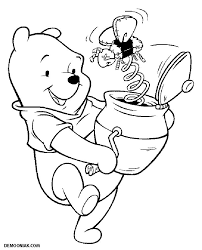 winnie 3 winnie the pooh and friends coloring pages coloring