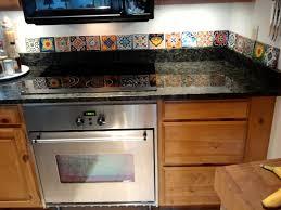tiles backsplash black granite countertops white subway tile