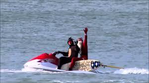 santa swapped his sleigh for a surfboard australian christmas