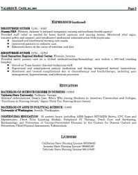 Registered Nurse Resume Samples Free by Examples Of Resumes For Nurses Nursing Resume Example 7 Best