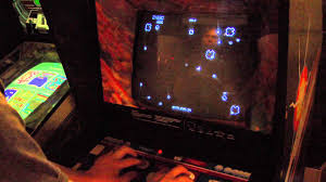 classic game room asteroids arcade game review youtube