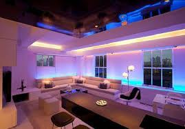 beautiful apartment lighting ideas with rgb led strip lights range