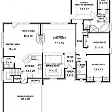 five bedroom floor plans five bedroom house plans one photos and single