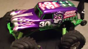 grave digger monster truck 30th anniversary traxxas led 30th anniversary grave digger vxl youtube