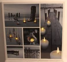 china led canvas wall with summer style china canvas led